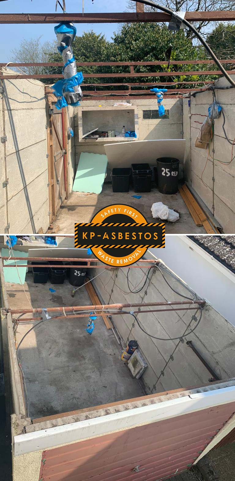 Asbestos removal cost - the real cost